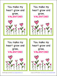 valentines for valentines for kids plant and seed free