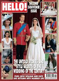 hello wedding dress hello magazine releases second souvenir edition of the royal wedding