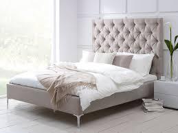 White Glass Bedroom Furniture Bedroom Fabulous Beige Soft Color Upholstered Bed Bernhardt Style