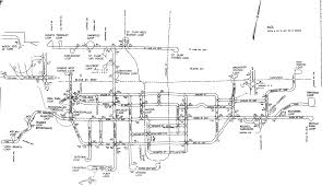 Ttc Subway Map by World Nycsubway Org Ttc Streetcar Track Map