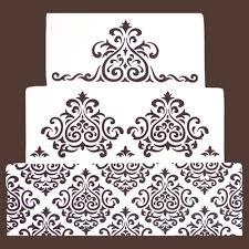 Elaine s cake stencil set fondant cake decorating tools cake mold