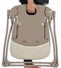 chaise haute bébé pliante looping chaise haute fixe ultra compacte lune câline amazon fr