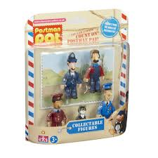 postman pat 5 figure collectable figure pack