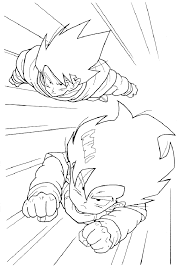 dragon ball z 16 coloring page