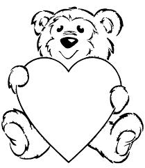 heart print coloring