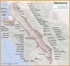 Oregon Ava Map by Monterey Ava Wine Making Pinterest Wine Wine Education And