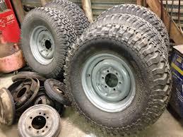 lexus steel wheels 5 fj40 oem steel rims and bfg tires houston ih8mud forum