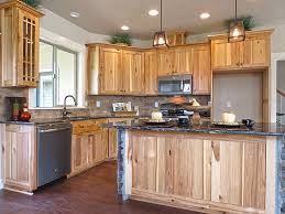 mission style kitchen cabinets view mission style hickory kitchen cabinets images woodsinfo