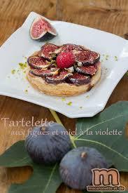 cuisiner des figues tartelettes aux figues et miel à la violette macaronette et cie