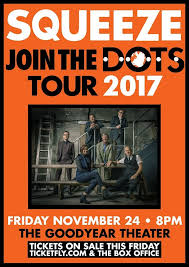 goodyear black friday sale squeeze to perform at the goodyear theater in november scene and