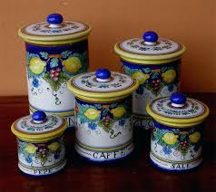 fioritura ceramic kitchen canister set ceramic canister sets for kitchen fioritura ceramic kitchen