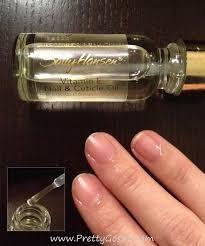 nail and cuticle oil pretty gossip