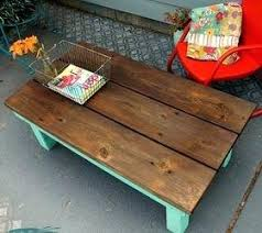farmhouse style coffee table diy outdoor coffee table build it yourself vintage inspired