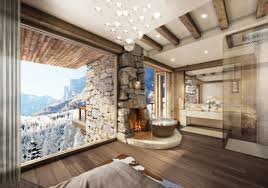 resort property in leukerbad switzerland by marc michael interior
