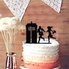 dr who cake topper wedding tardis cake topper wedding doctor who silhouette cake