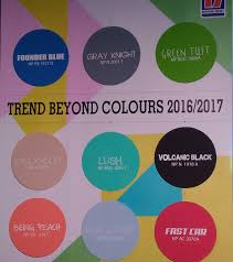 Color Forecast by Nippon Releases The 2016 Color Trends
