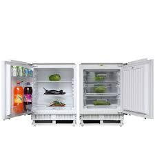 under cabinet fridge and freezer buy this cookology integrated 60cm built under counter larder fridge