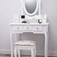 White Shabby Chic Dressing Table by Capri Dressing Table Mirror U0026 Stool Set Premium Quality