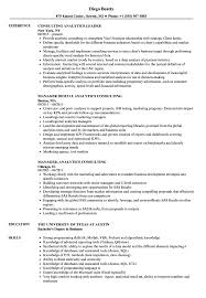 sle resume for business analysts degree celsius symbol analytics consulting resume sles velvet jobs