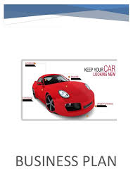 business plan for car washing fruitcake indians ga