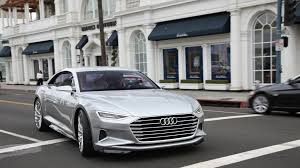 future audi a9 audi unveils new design direction in prologue concept car la times
