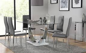 glass dining room sets picturesque glass dining sets furniture choice of room table