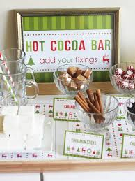 cookies and cocoa party christmas holiday party ideas free