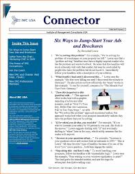 newsletter template 2016