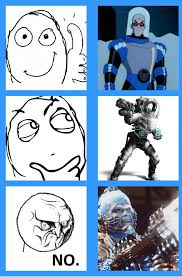Mr Freeze Meme - 9gag mr freeze meme 3 by suiyaoirui07 on deviantart