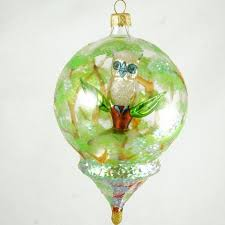 glass ornaments painted and blown in poland gifts by kasia