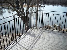 best metal deck railing ideas three dimensions lab