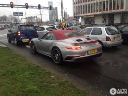porsche cabriolet turbo porsche 991 turbo s cabriolet mkii 20 february 2016 autogespot