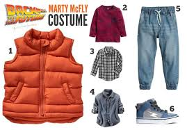 marty mcfly costume diy sibling costume back to the future simply real
