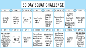 The Challenge How To Do It Get A Better With This 30 Day Squat Challenge