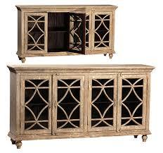 buffet cabinet with glass doors bacca buffet 4 doors