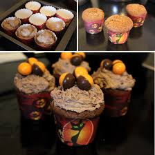 Halloween Cornflake Cakes by Pieday Friday Chocolate Orange Cupcakes