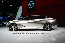 nissan supercar concept nissan vmotion 2 0 hints at future high tech family sedan