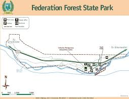 Washington State Parks Map by Federation Forest State Park Hiking Trails