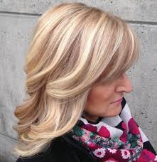 hairstyles with highlights for women over 50 30 medium hairstyles for women over 50 haircuts hairstyles 2018