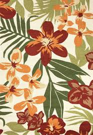 Tropical Print Area Rugs Tropical Outdoor Rugs Roselawnlutheran