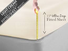 Egyptian Cotton Percale Sheets Egyptian Cotton Percale 200tc Extra Deep Fitted Sheets