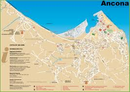 Itsly Map Ancona Map Ancona Location On The Italy Map Gray Simple Map Of