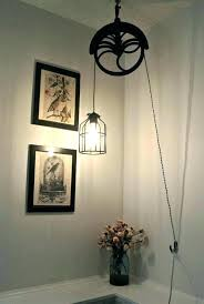 Pulley Pendant Light Pulley Lights Landmark Lighting Farmhouse Bronze Pendant 1