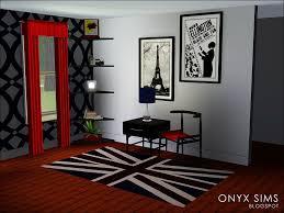 acorn office set onyx sims