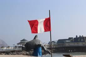 Lima Flag Incredible Gastronomy Of Peru Lima Will Walk Around