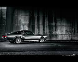 Mustang 1967 Black Mustang Shelby Gt500 Wallpapers 87