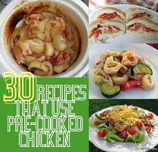 Dinner Ideas Using Chicken The Craft Patch 30 Recipes That Use Pre Cooked Chicken