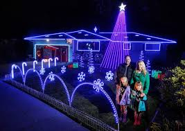 santa rosa christmas lights the miller lights home of the miller family christmas lights show
