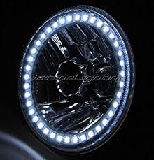 amazon com octane lighting 5 3 4 white halo h4 light bulb