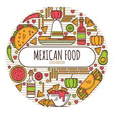 cuisine mexicaine menu de la cuisine mexicaine téléchargez de l des graphiques